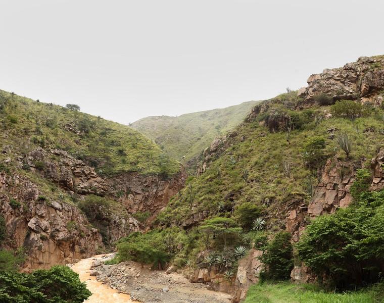 Umpalá Rocky Canyon River en Route to Barichara