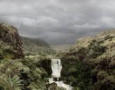 Bedón River Waterfall at the Páramo