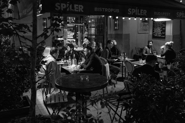 Cafe Life (Budapest, 2016)