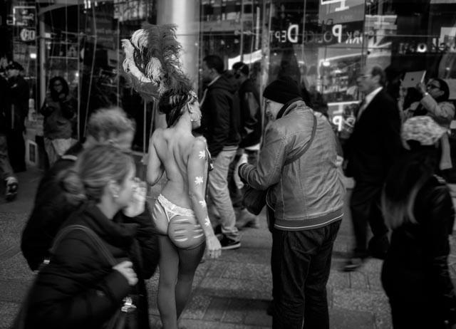 Times Square Scene (NY, NY 2014)