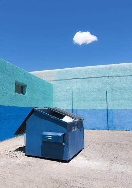Dumpster with Cloud