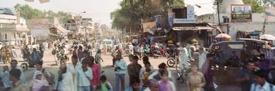 Outside Jaipur