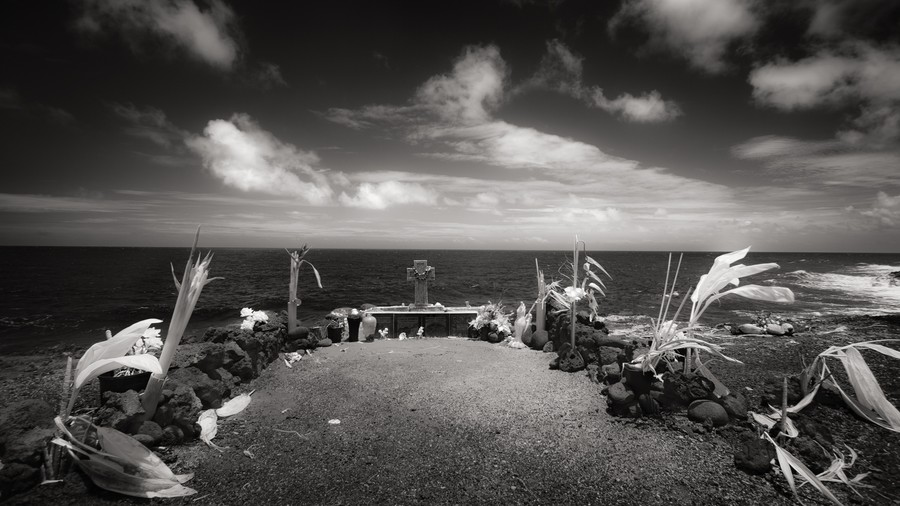 Seaside Memorial, Puna, Hawai'i