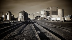Grain Elevators, Ritzville, Washington