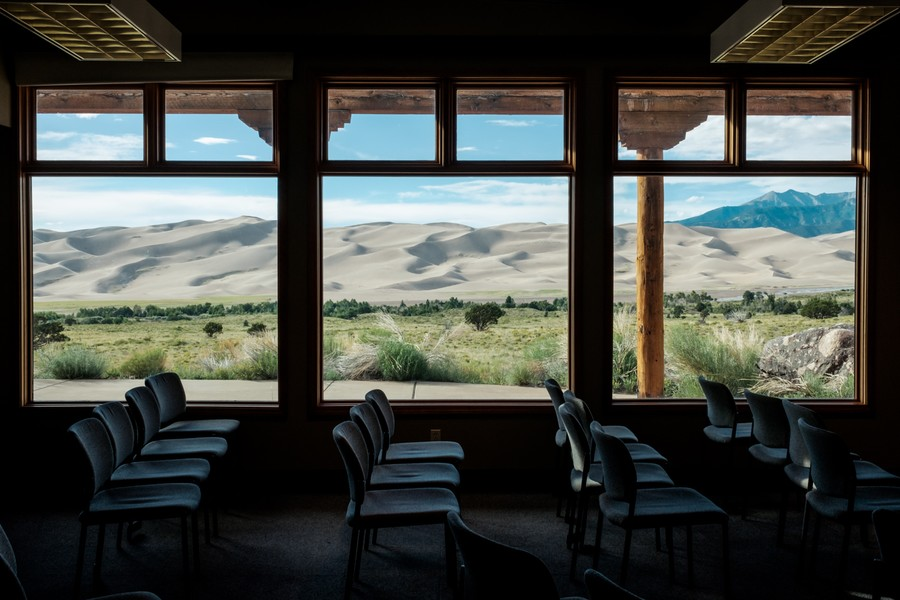 Visitor Center, Great Sand Dunes Natl Park
