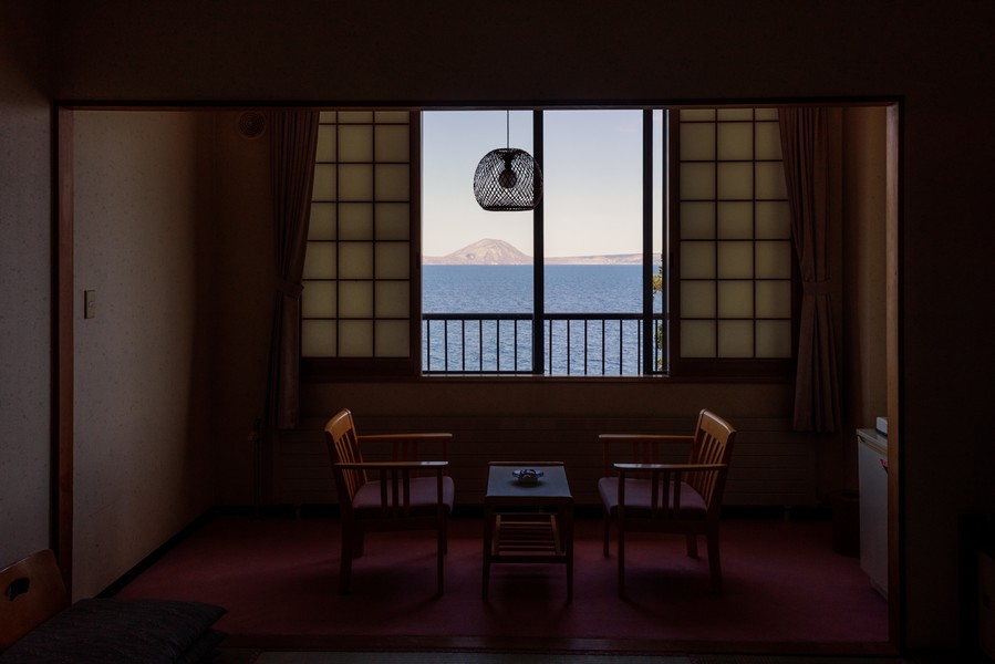 Sitting Room by the Lake, Hokkaido