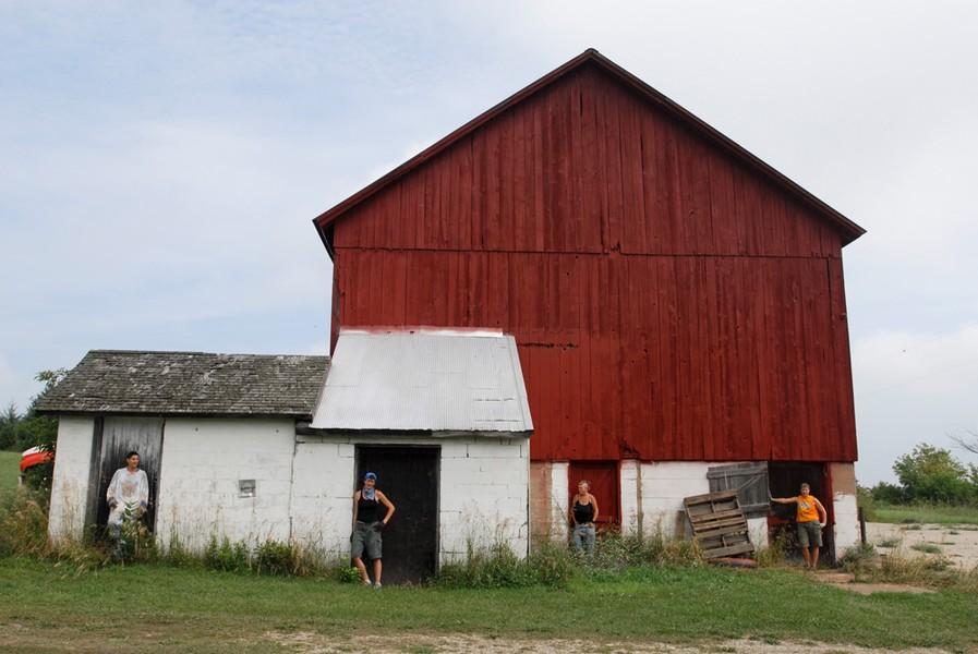 Howard's Barn, summer. 2006.