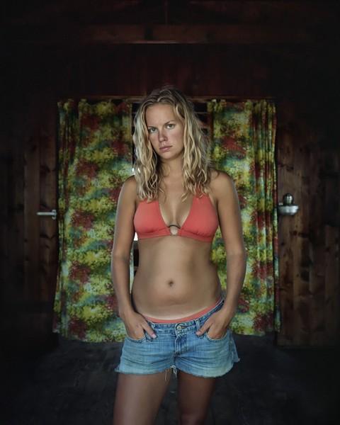 Kate in Orange Bikini, 2006