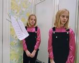 Girls in Bathroom, 1997