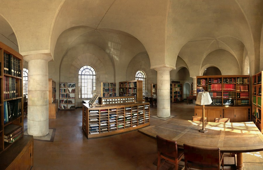 Rockefeller Archeological Library, 2007
