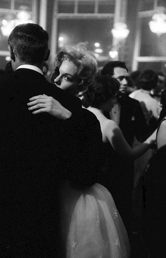 Kim Novak and Cary Grant. Cannes 1959