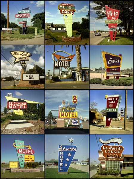 Motel signs, 1979 to 2005