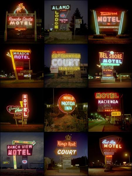 Motel Signs, 1979-1980