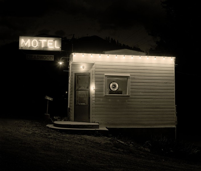 Motel, Highway 85, Deadwood, South Dakota, 1972