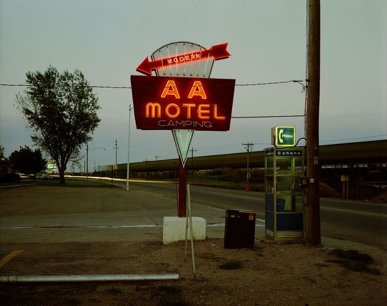 AA Motel, Holdrege, Nebraska, May 22, 1981