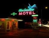 Blue Swallow Motel, Tucumcari, New Mexico, July 1990