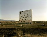 et Drive-in Theater, Tularosa, New Mexico, January 8, 1983