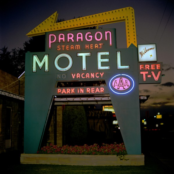 Paragon Motel, Denver Colorado, 1979