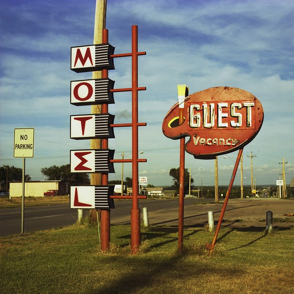 Guest Motel, Norton, KS. 1982