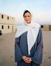 Marine LCpl Nicold Veen as an Iraqi nurse, 2008