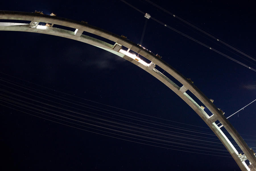 Arch Complete, September 8, 2009