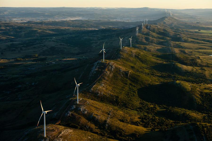Sierra de los Caracoles, wind project, Uruguay