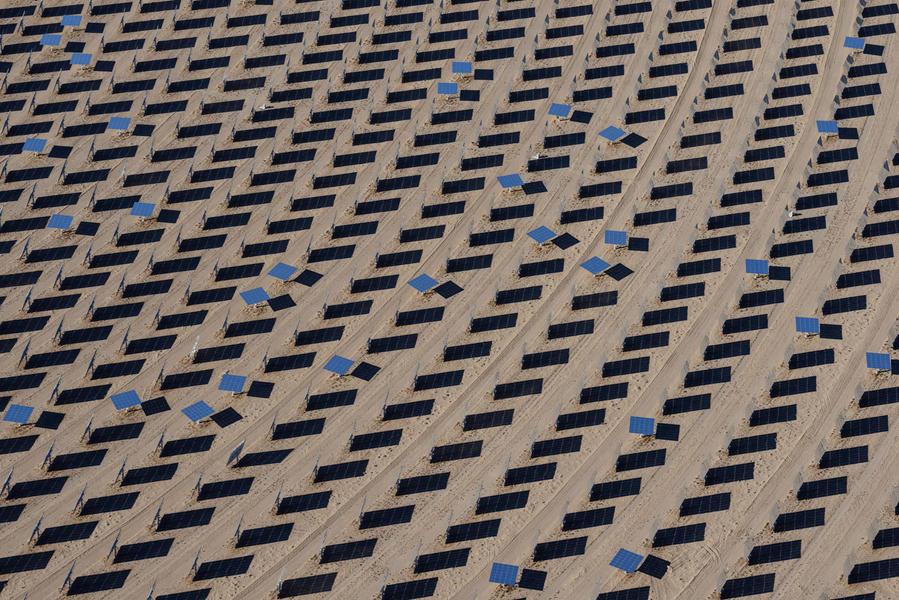 Heliostats, Crescent Dunes Solar Energy Plant