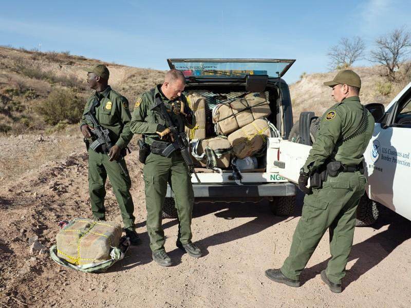 Seized Marijuana Bales, AZ