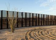 Drop-off and Border Fence, Sonora