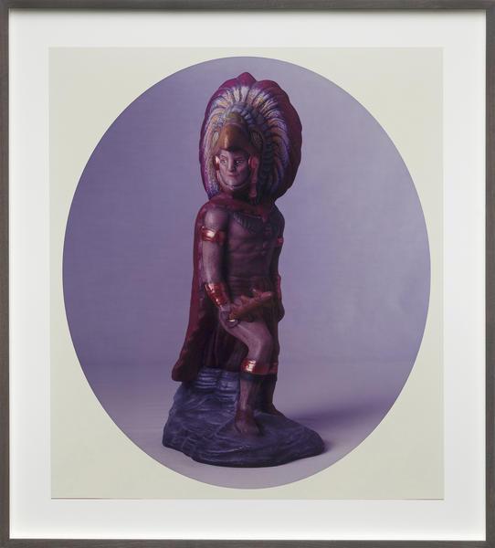 Untitled (Aztec Warrior)