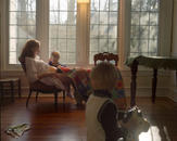 SelfPortrait with Nicholas& Marshall (stethoscope)