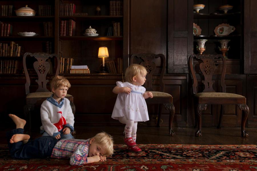 Nicholas, Marshall and Catherine, 2012