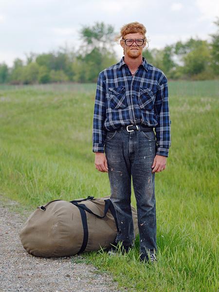 Joe, Hitch Hiker, Central Illinois 2005