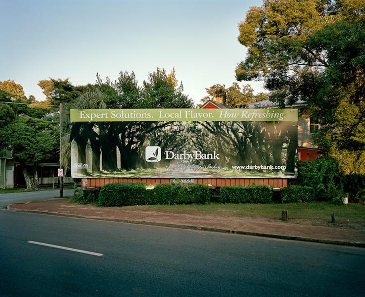 Billboard with Trees, Savannah, GA