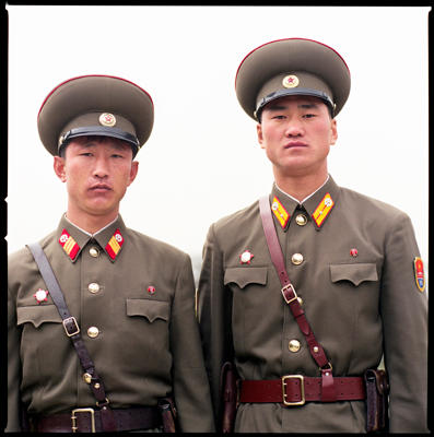 Soldiers, Demilitarized Zone, North Korea