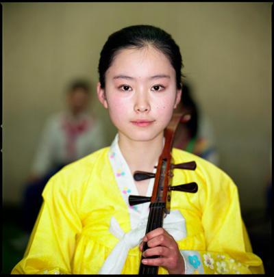 Musician, Mangyondae Schoolchildren's Palace, North Korea