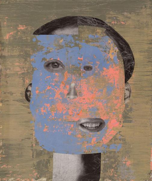 Man Looking Sideways(with Kurt Cobain Ears)