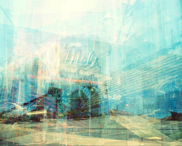 Sunset Strip, Los Angeles  2005