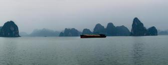 Cargo Ship, Ha Long Bay