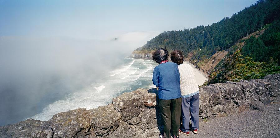 Tourists, Oregon Coast