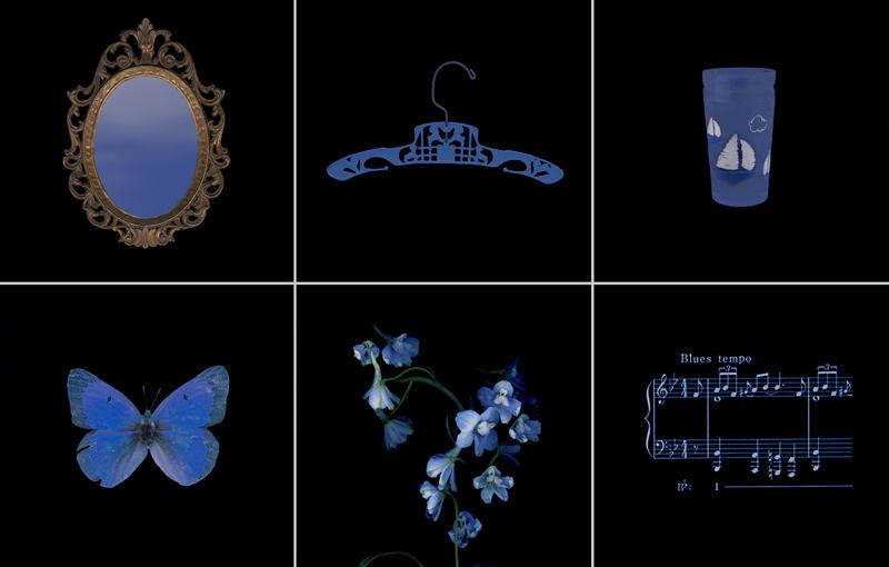 Glowing Evidence: Studies in Blue