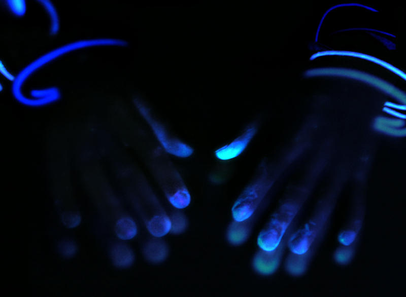 Glowing Evidence: Hector's Hands