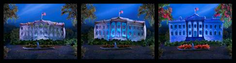 The First 100 Days (the White House in Jell-O)