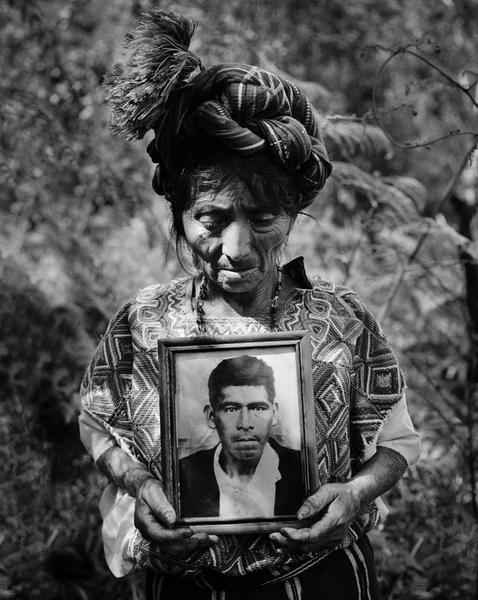 The exhumation of Clara's husband, Guatemala, 2000