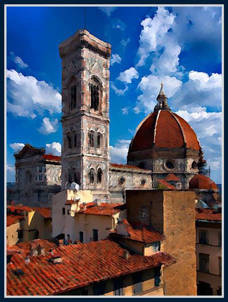 Giotto's Campanile, Firenze, Italy