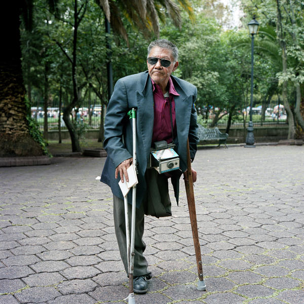 Itinerant Photographer, Mexico, DF, 2008