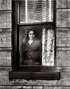 Woman in the window, East New York, Brookyn, 1964