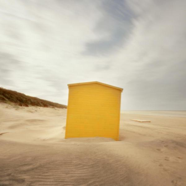 Yellow hut, Lithuania