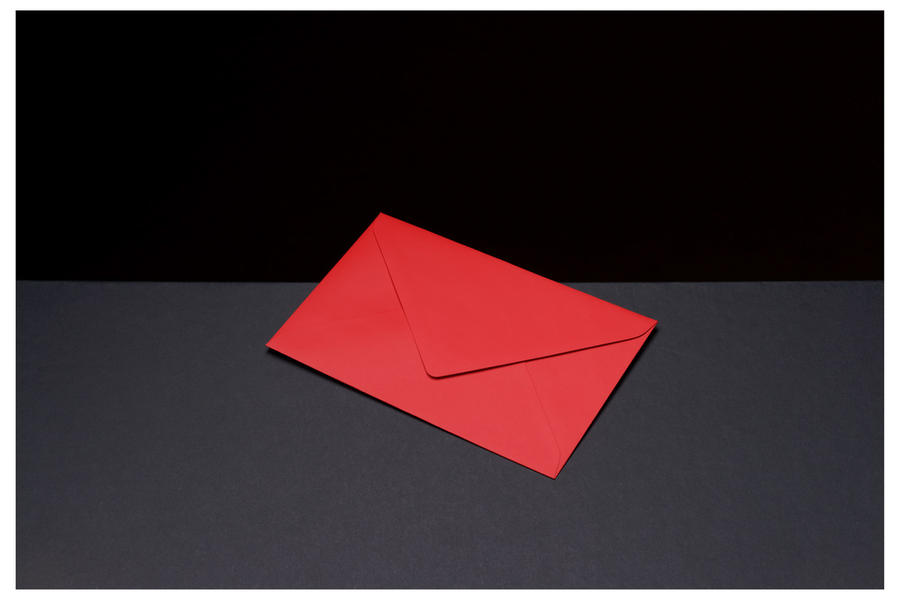 Colored Envelopes #3, 2010