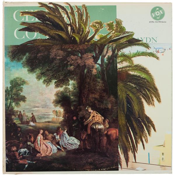 Cello Concertos, mixed media on album cover